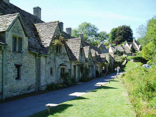 Let's Take a Trip to the English Village